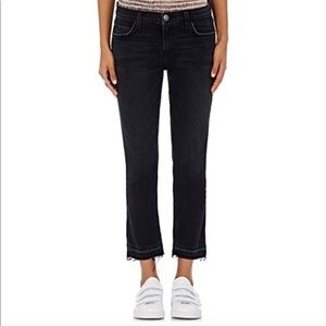 Current/Elliott Cropped Straight Watchtower Jeans